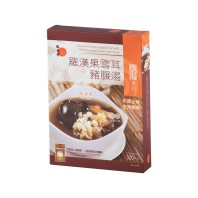 Wai Yuen Tong Grosvenor Momordica Fruit with White Fungus in Pork Shin Soup
