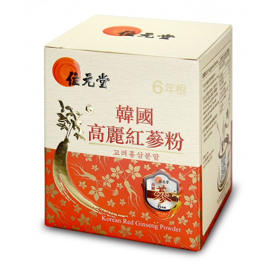 Wai Yuen Tong 6 Years Root Korean Red Ginseng Powder