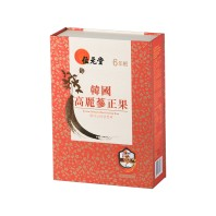 Wai Yuen Tong 6 Years Korea Honeyed Red Ginseng Root