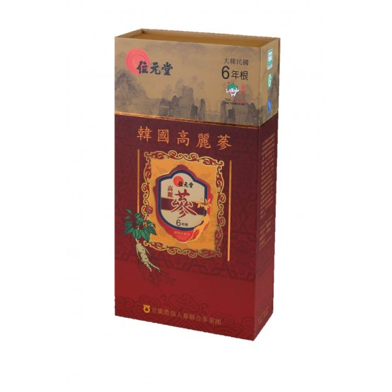 Wai Yuen Tong six years old Korea Red Ginseng