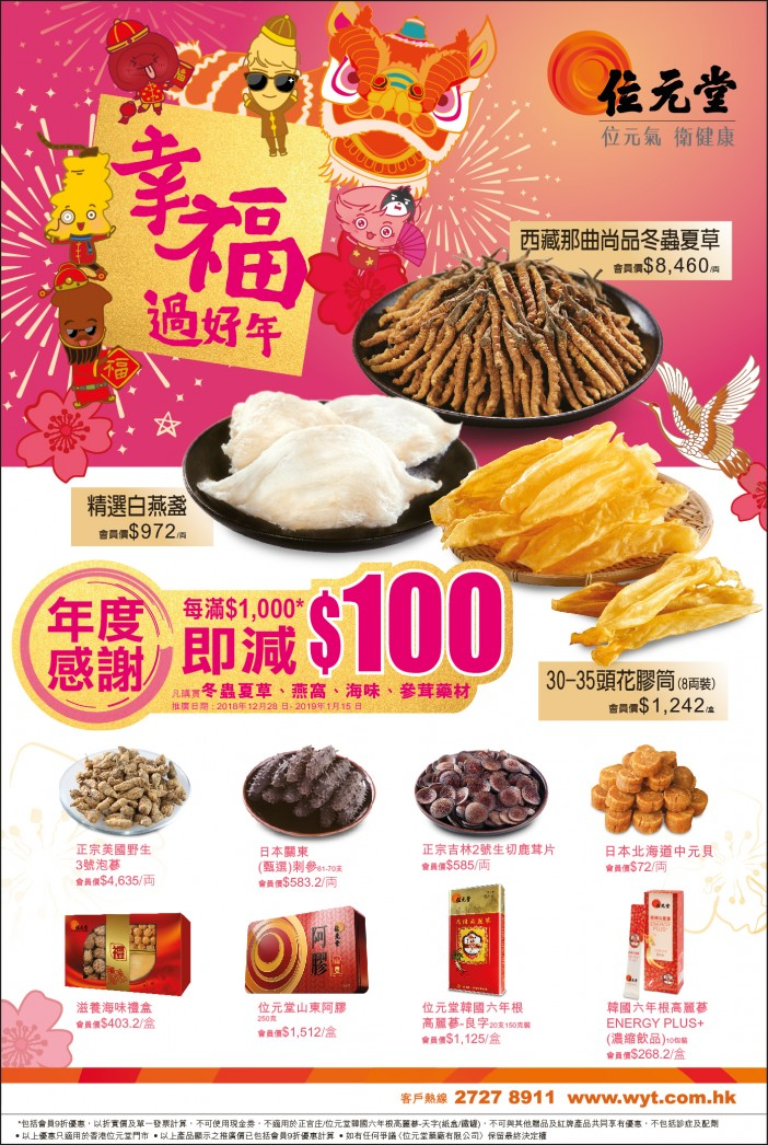 2019 New Year Promotion